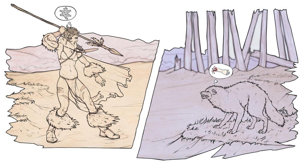 Clash of animalism. by Tomekkaz