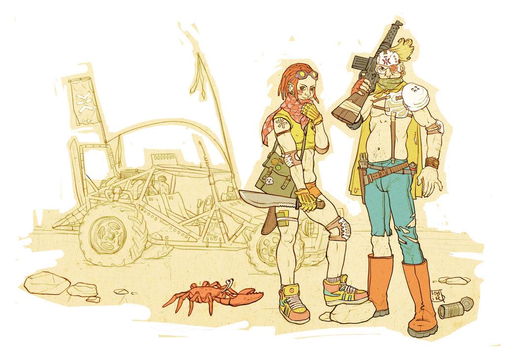 Wastelanders. by Tomekkaz