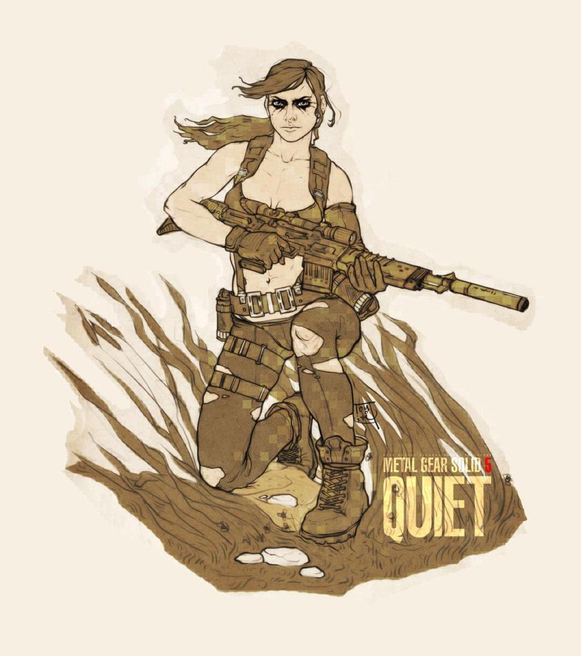 Quiet. by Tomekkaz