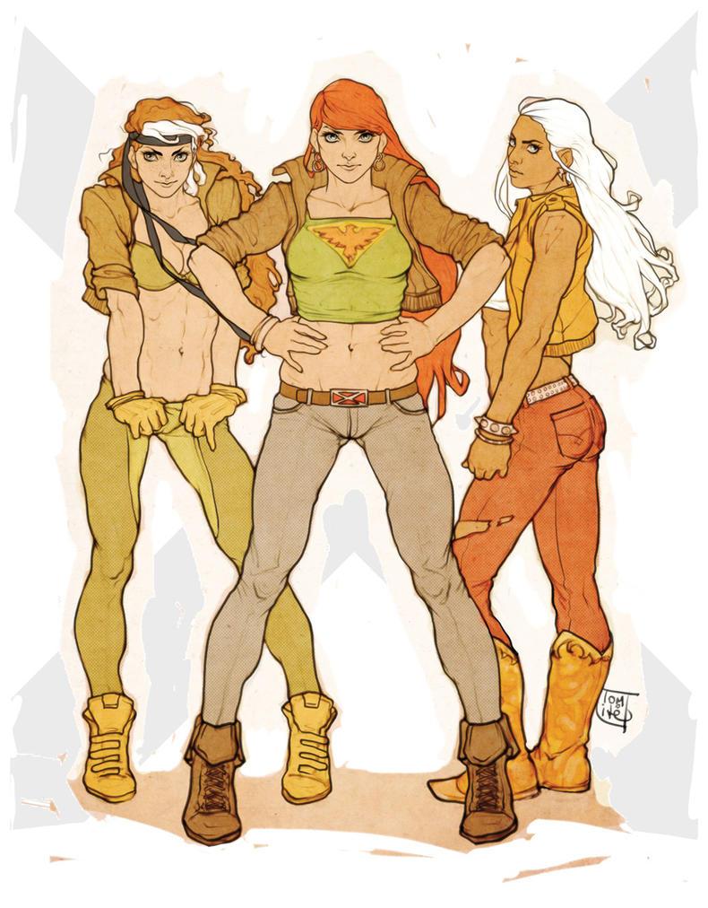 X-Girls. by Tomekkaz