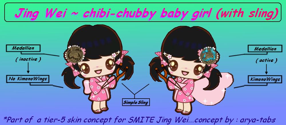 Chibi Chubby Jing-wei by arya-tabs