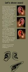 Ear Tutorial by TapetalCookie