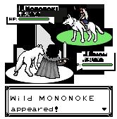 Jon Snow VS Mononoke by TapetalCookie