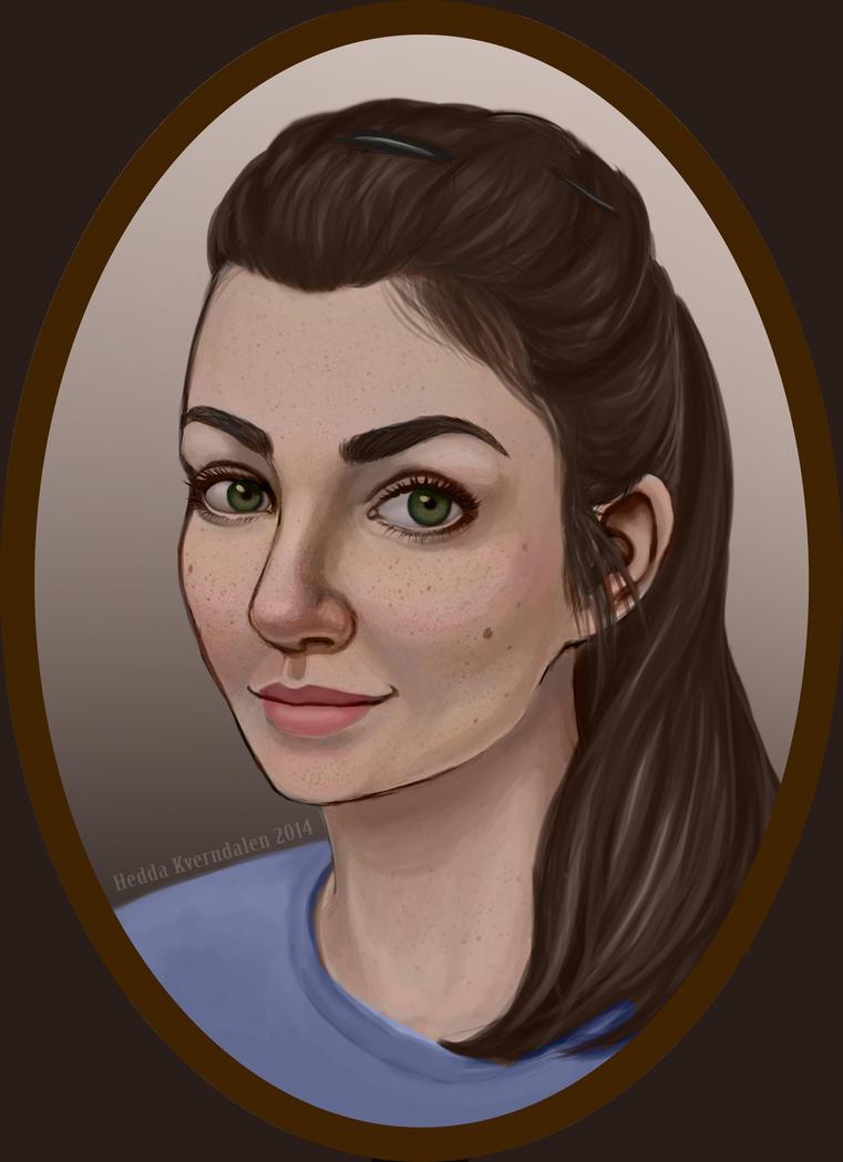 Self portrait by TapetalCookie