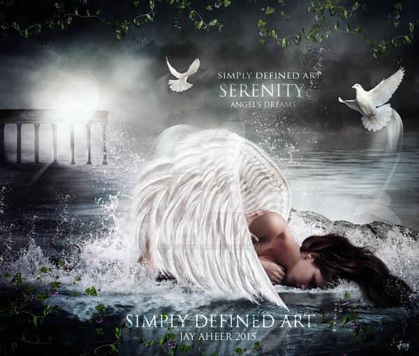 Serenity - Angel's Dreams by SimplyDefinedArt