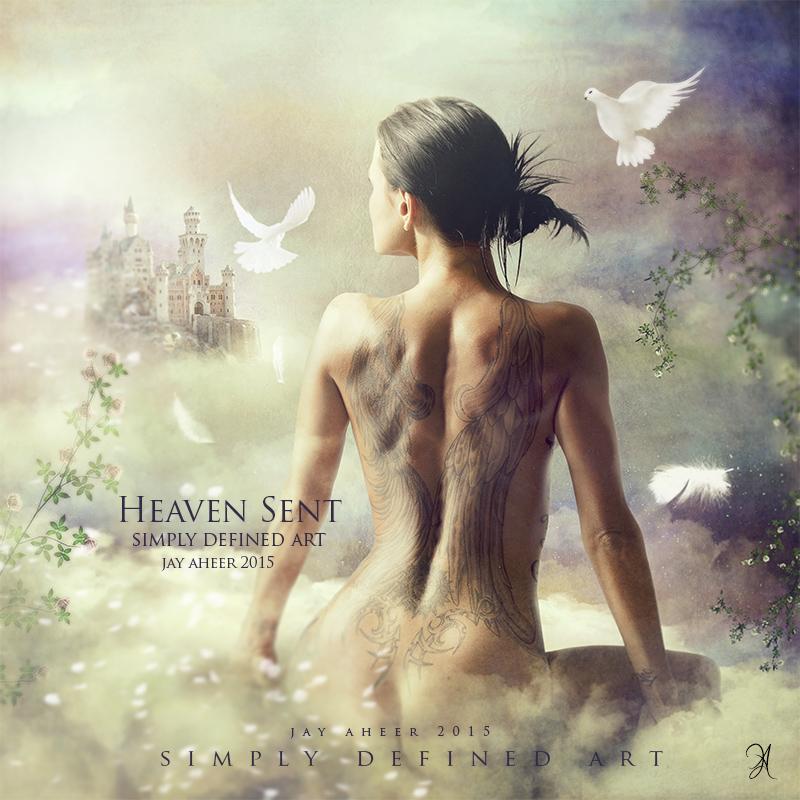 Heaven Sent by SimplyDefinedArt