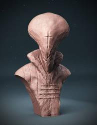 Alien Priest by loden