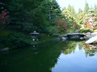 Japanese Garden by Jagarnot