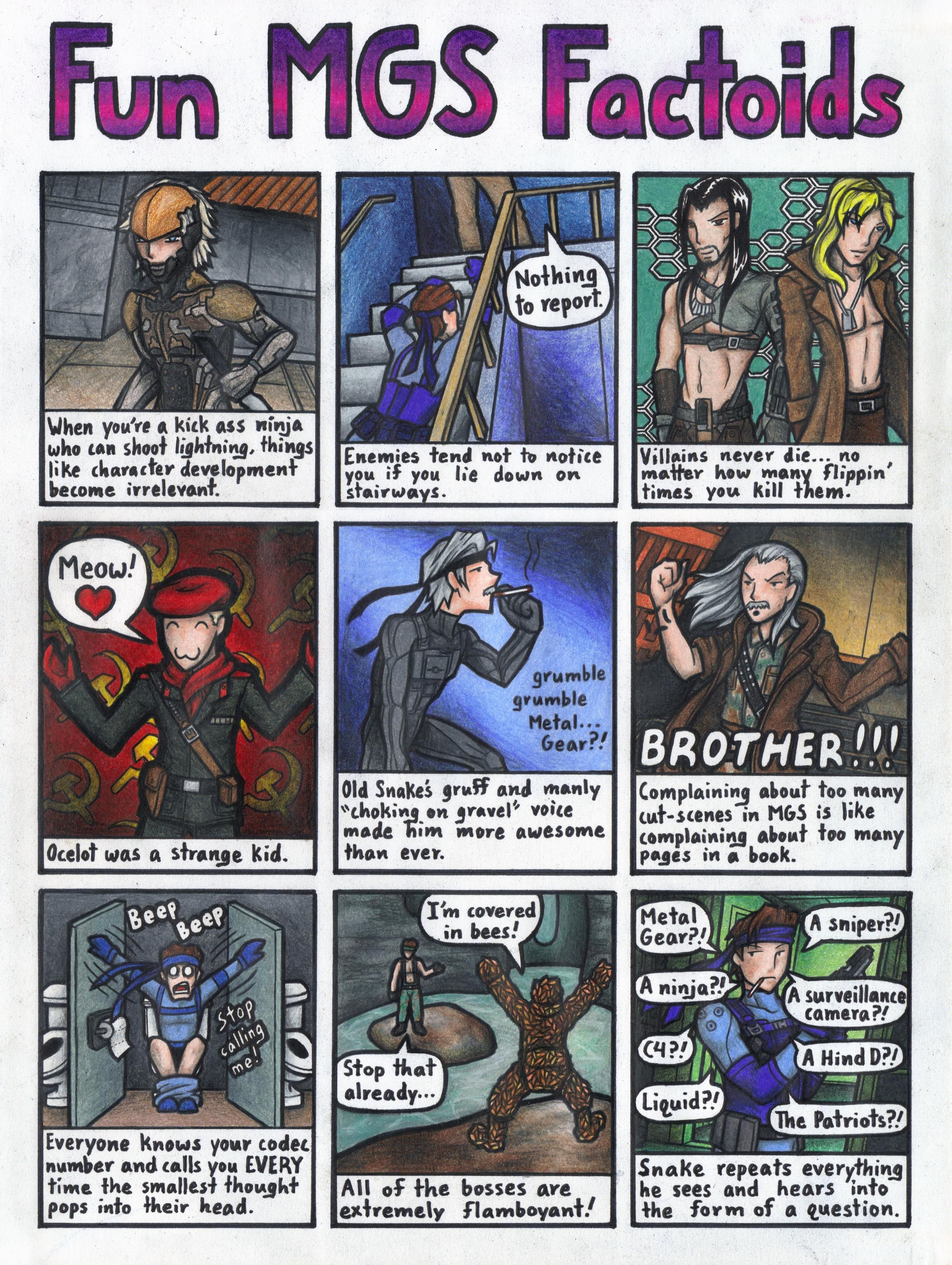 Cute/Funny Pics/Movies of MGS --{Links Only}-- - Metal Gear Solid ...