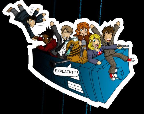 TARDIS Adventure Time