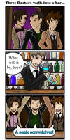 Three Doctors Walk into a Bar by Jagarnot