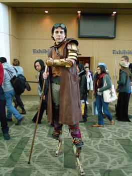 Steampunk Stilts Guy