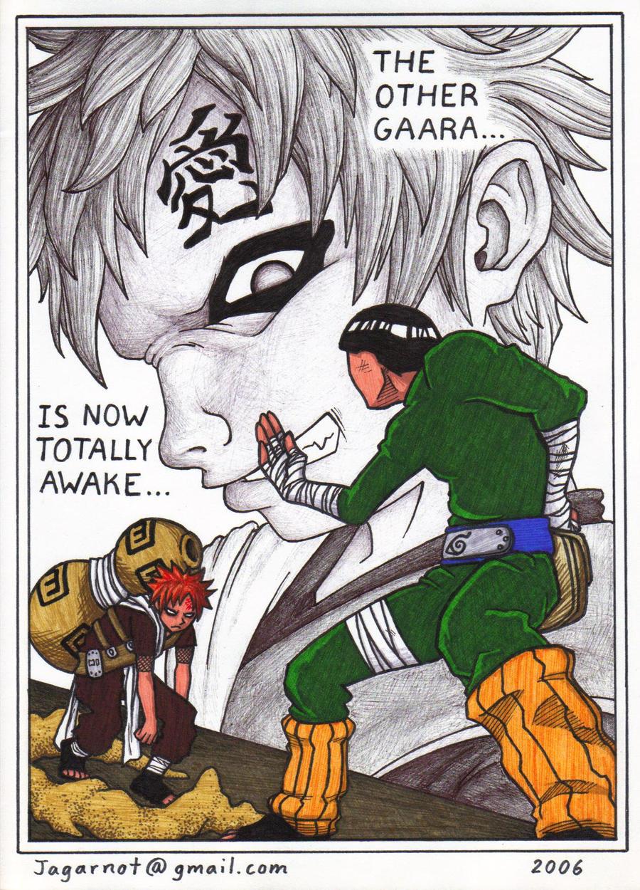 Gaara vs Rock Lee by Jagarnot on DeviantArt Gaara And Rock Lee Vs Kimimaro
