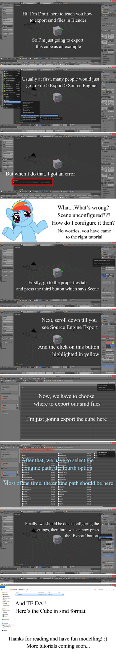 [Tutorial] Exporting smd files in Blender by AutoAudi