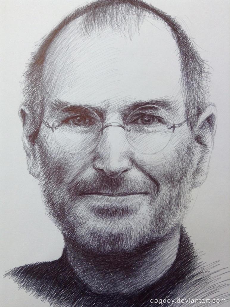 Steve Jobs by dogdoy