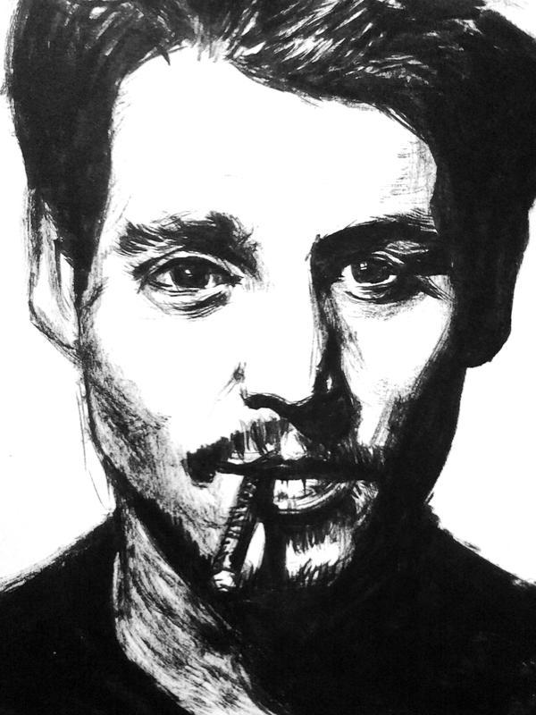 Johnny Depp by dogdoy