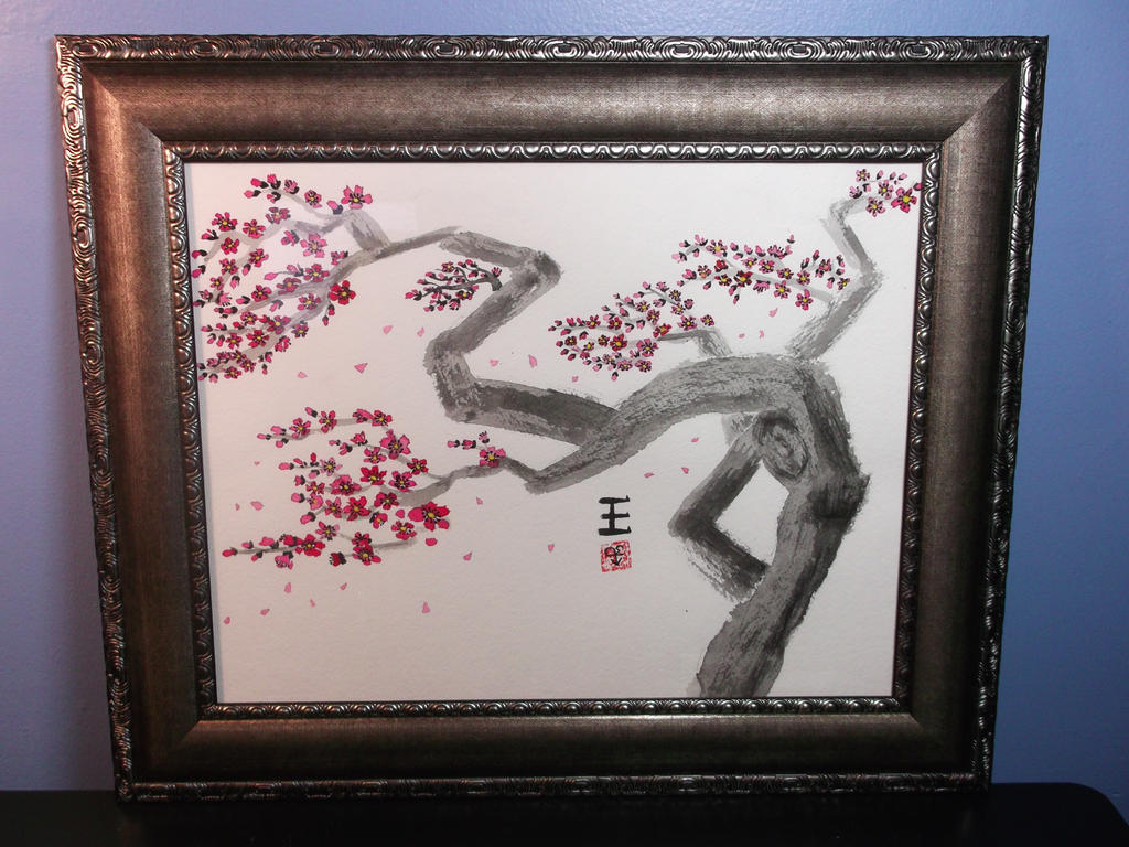 Cherry Blossom Breeze by DeadHeartMare