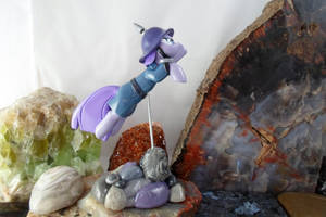 Maud Pie to the Rescue! (side view) by DeadHeartMare