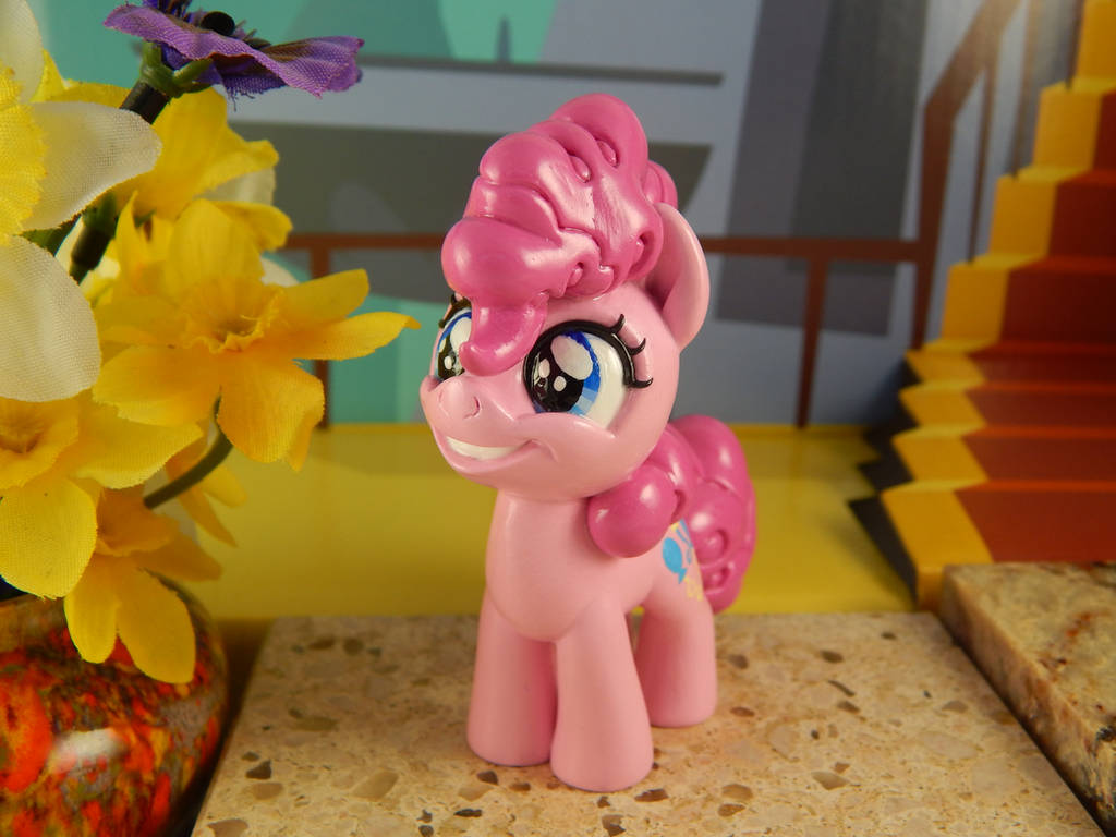 Filly Pinkie Pie (left, front view) by DeadHeartMare