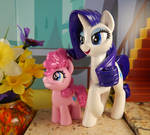 Rarity and Filly Pinkie Pie set