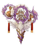 Commission : NPC Goddess of Fate
