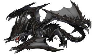 Commission : Black Dragon (Ingram)