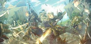 Comm - Their Battlefield