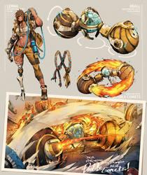 Radical Racer - Lenna and 8Ball