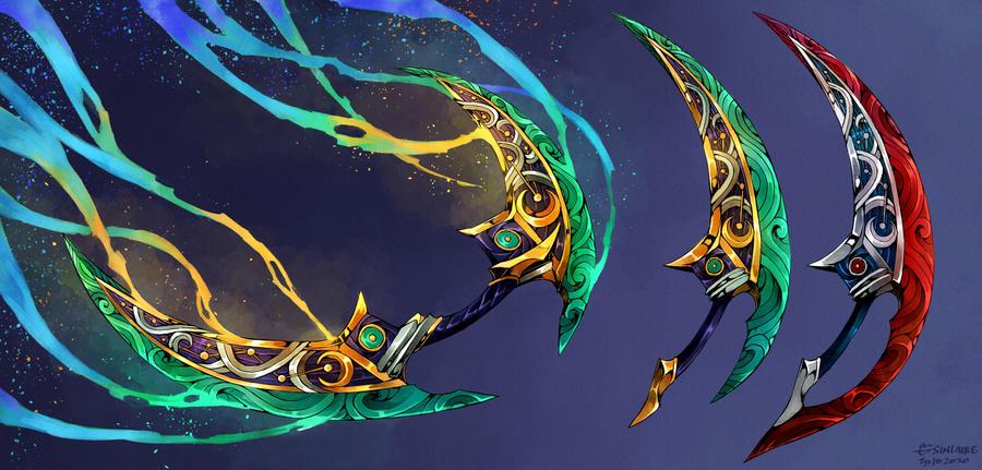 Comm - Glimmering Windblades