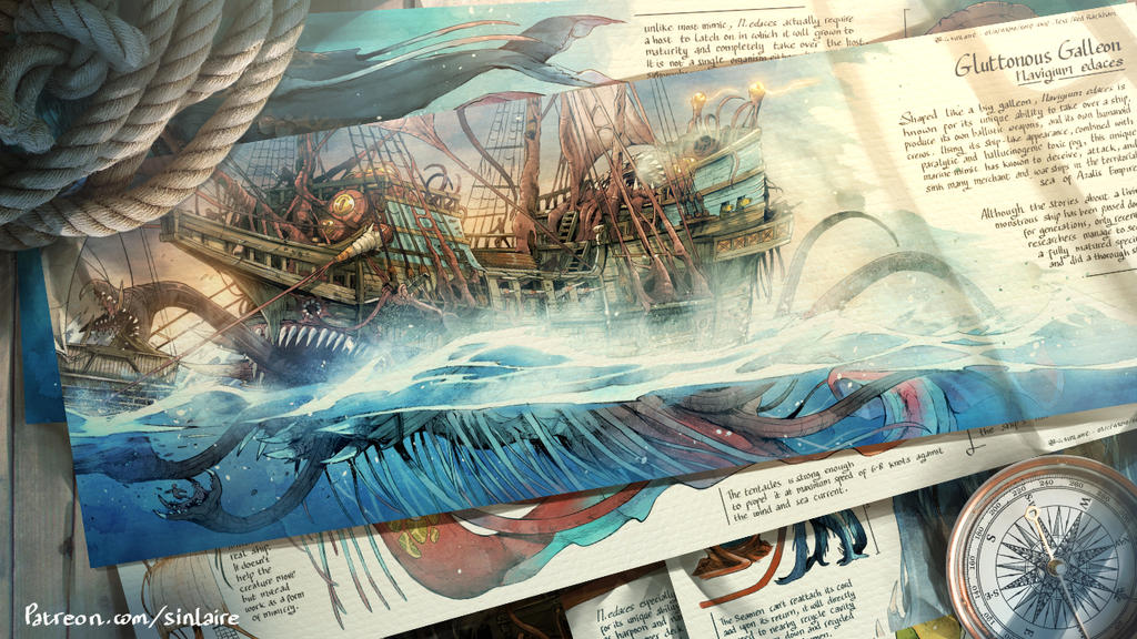 Navigium edaces - The Gluttonous Galleon