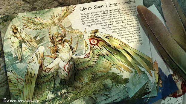 Fremeris paradisis - Eden's Siren