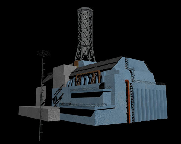 Chernobyl reactor 4 by Frankish-tyr on DeviantArt