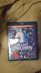 Signed DVD copy of the last unicorn.