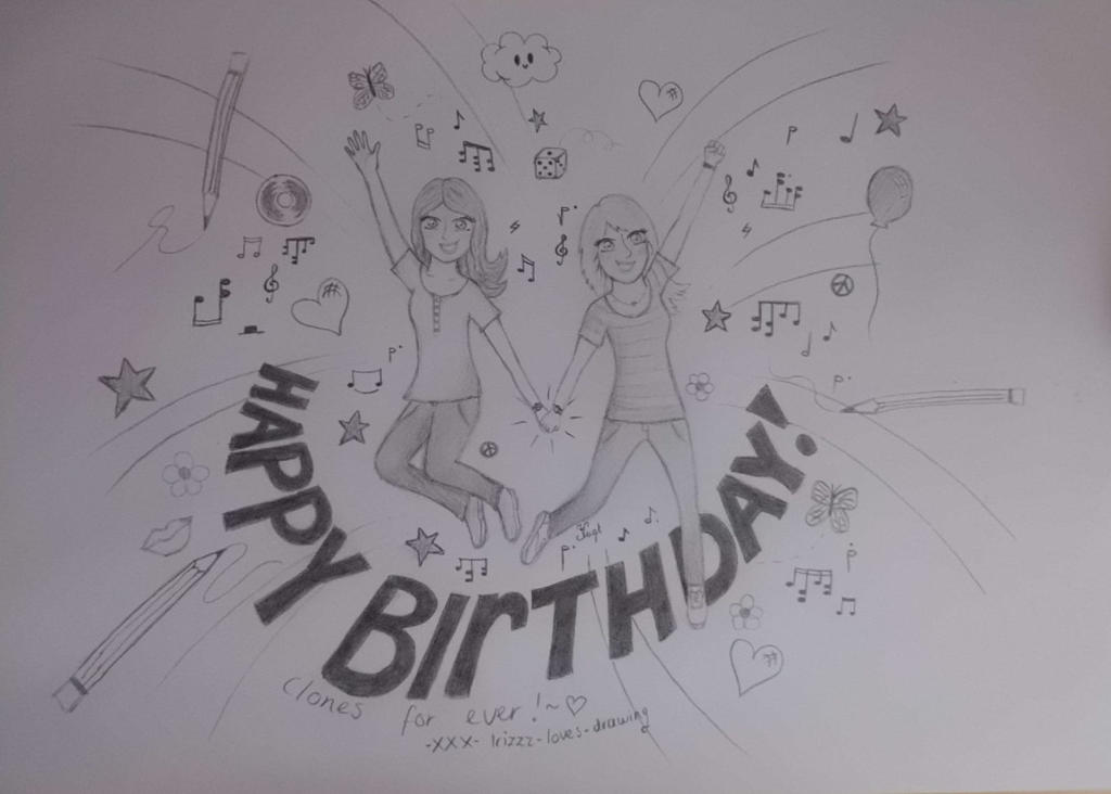 Happy birthday iris by irizzz loves drawing