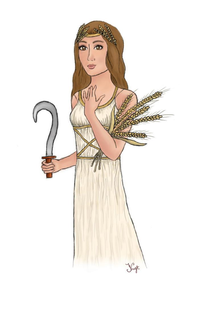 Image result for demeter illustration