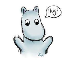 Moomin hug?