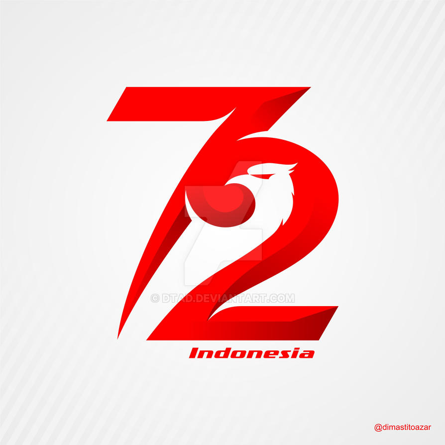 Logo Hut Ri Ke 74: Logo HUT RI 72 By DTAD On DeviantArt