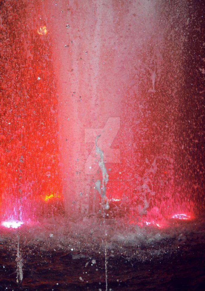 Water in lights by Shell-Buchanan