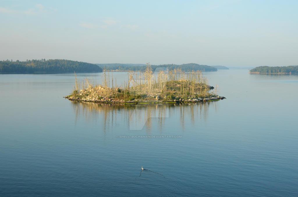 Pastel Island by Shell-Buchanan