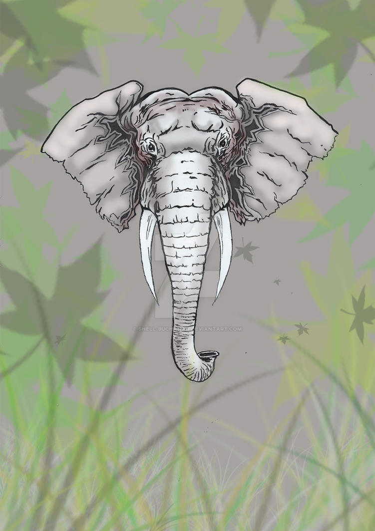 The Mighty Elephant by Shell-Buchanan