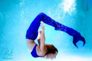 Underwater Mermaid Flip by Burnouthappy