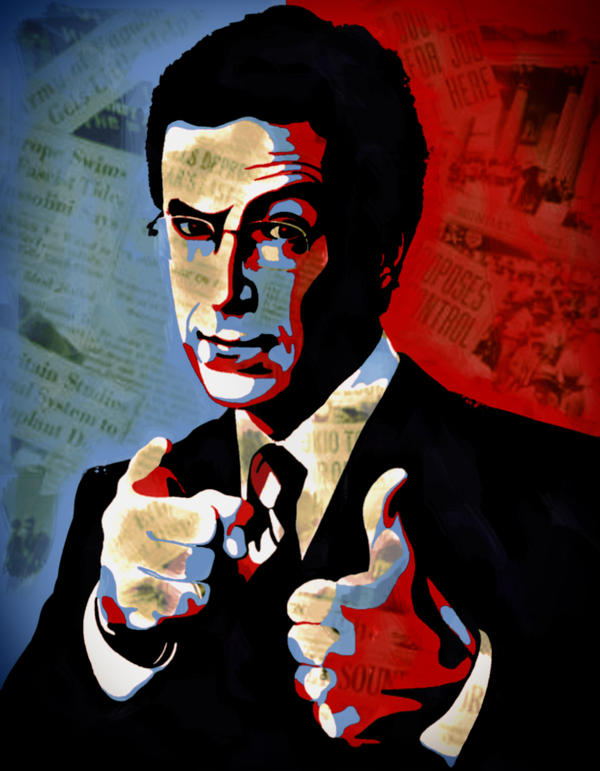 Colbert For President by AndzeJSteweiner