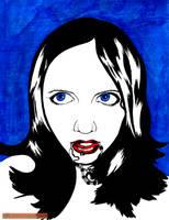 Somara Portrait by DarkPrinceArmon