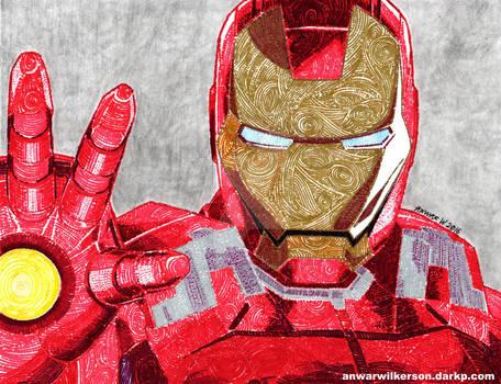 Tony Stark by anwarwilkerson.blogspot.com