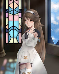 Pope Agnes by Noble-Fantasy