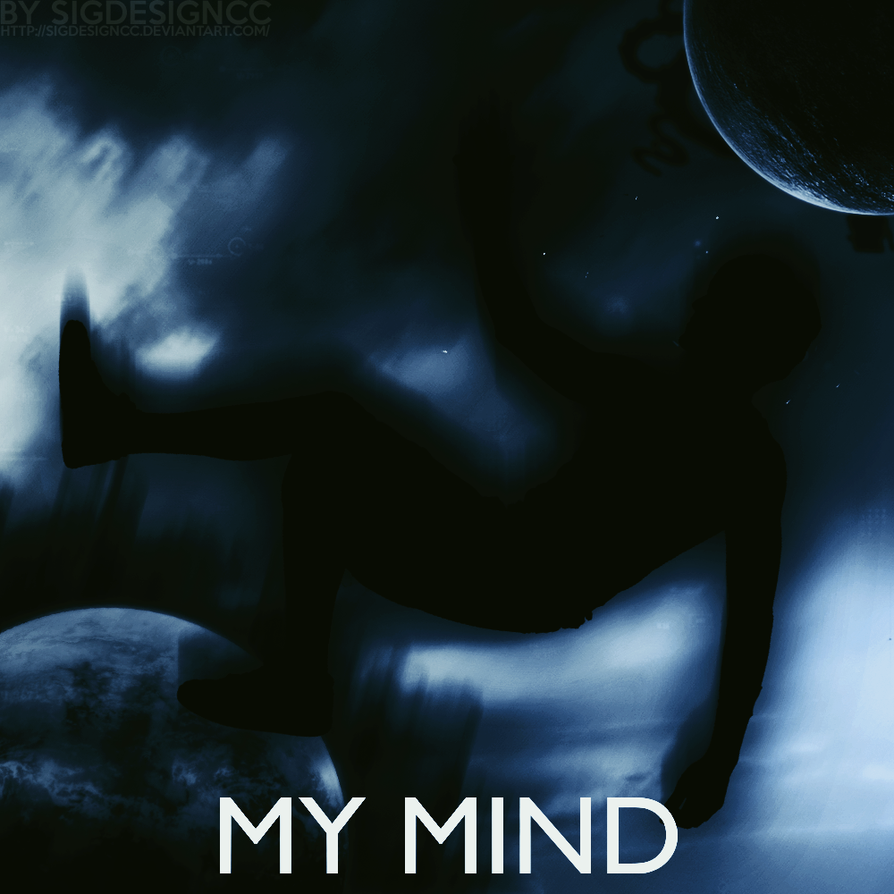 My Mind 1000x1000 Blue by SiGDesignCC