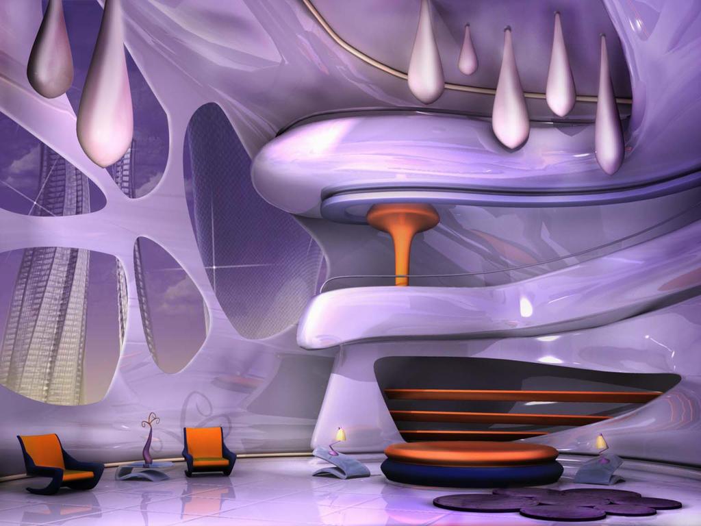 Futuristic Room By Redbiter On Deviantart