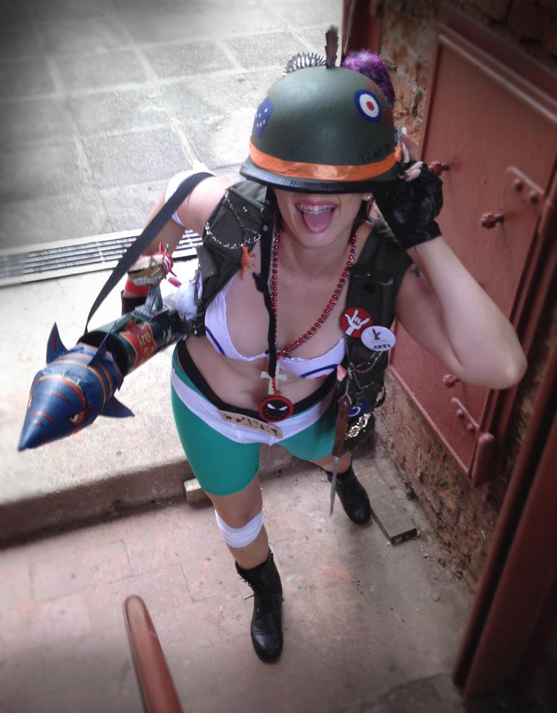 Tank Girl Cosplay by RedBiter