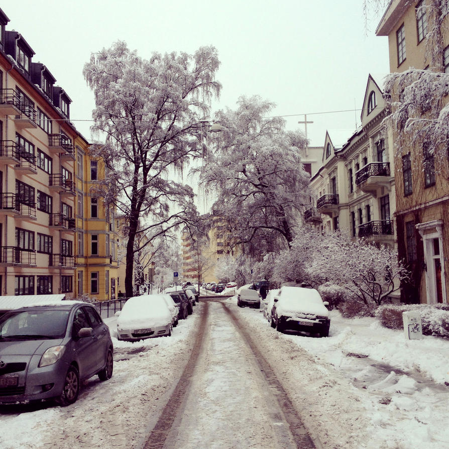 Winter in Oslo by TheooDore