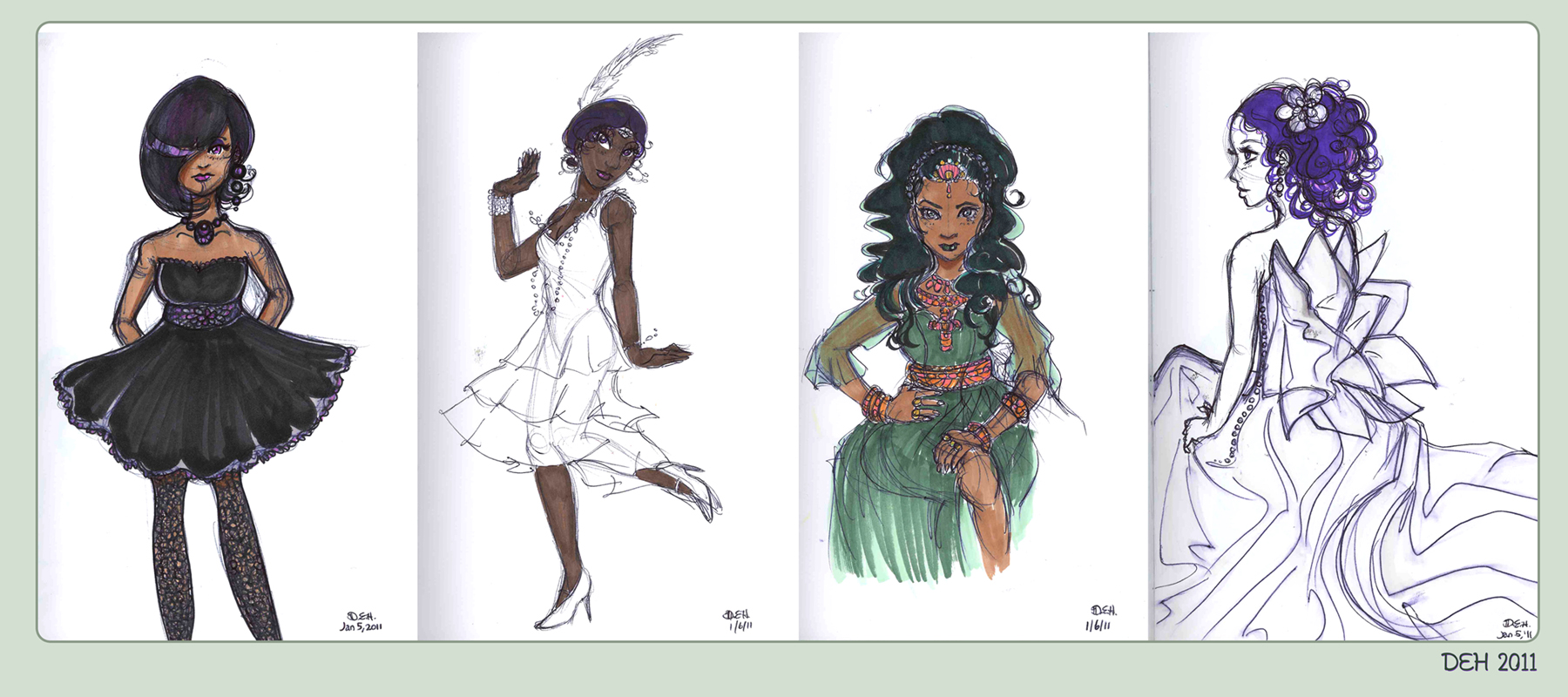 Prismacolor Fashions by danee313